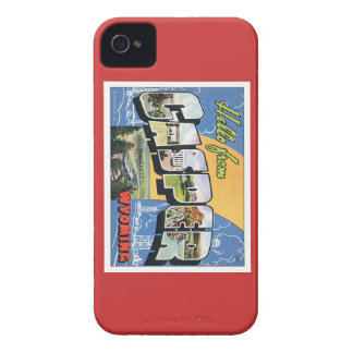 Hola de Casper Wyoming iPhone 4 Carcasa