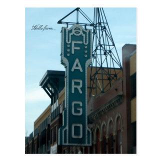 Hola de… Fargo, ND Postales