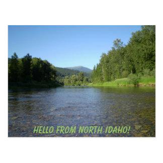 ¡Hola de Idaho del norte! Postal