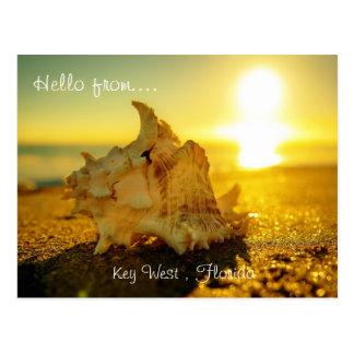 Hola de… Key West, la Florida Tarjeta Postal