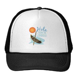 Hola de la góndola gorras de camionero