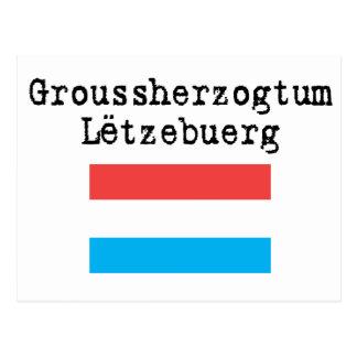 Hola de Luxemburgo Tarjeta Postal