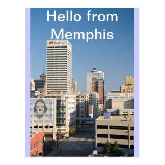 Hola de Memphis, Tenn. Postal