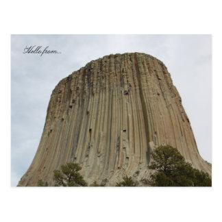 Hola de… Monumento nacional de la torre de los dia Postales