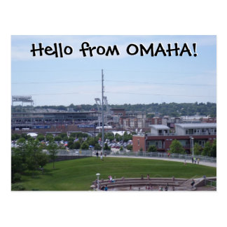 ¡Hola de OMAHA! Postales