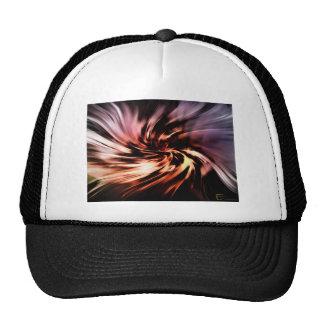 Hola diseño de la felicidad gorras