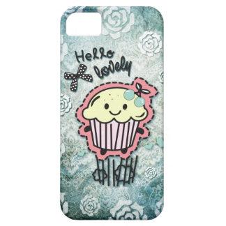 Hola ejemplo precioso de la magdalena en el damasc iPhone 5 Case-Mate carcasas