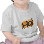 Hola en pintada holandesa del hoi camisetas