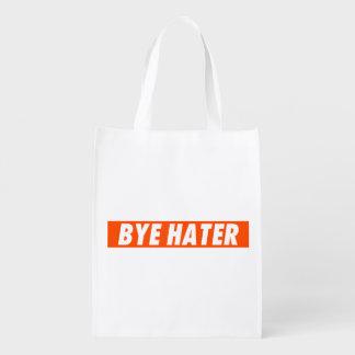 Hola enemigo - enemigo del adiós bolsa reutilizable