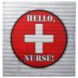 ¡Hola, enfermera! Servilletas