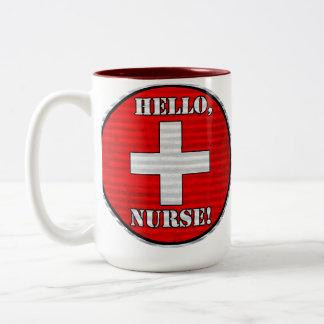 ¡Hola, enfermera! Taza