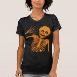 ¡Hola esqueleto! Señoras Camiseta