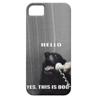 Hola, éste es sí caso del iPhone 5 del perro iPhone 5 Cárcasa