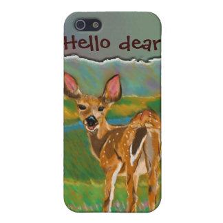 Hola estimado caso del iPhone 4 de los ciervos iPhone 5 Carcasas