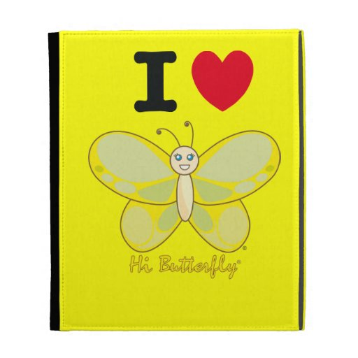 Hola folio Caseable del iPad de Butterfly®