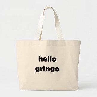 hola gringo bolsa tela grande