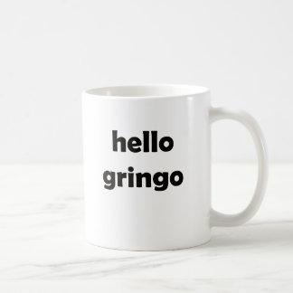 hola gringo taza clásica