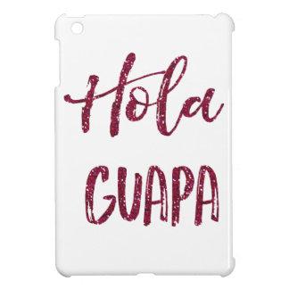 Hola Guapa Pink Glitter iPad Mini Cases