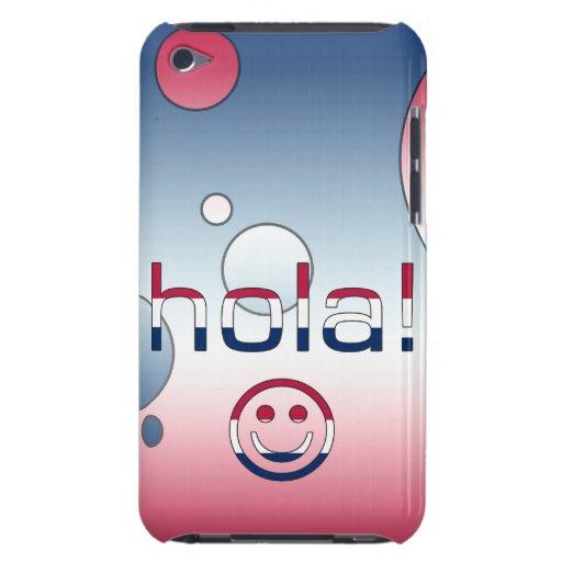 Hola hispanoamericano/Hola de los regalos + Cara s Barely There iPod Fundas