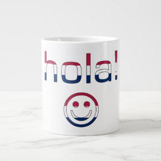 Hola hispanoamericano/Hola de los regalos + Cara s Taza Grande