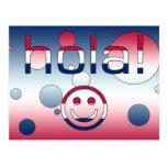 Hola hispanoamericano/Hola de los regalos + Cara Postal