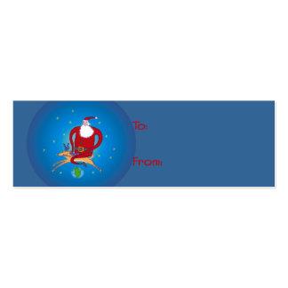 ¡Hola Ho Santa Etiquetas del regalo Tarjeta De Visita