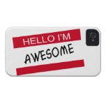 Hola Im impresionante iPhone 4 Case-Mate Fundas