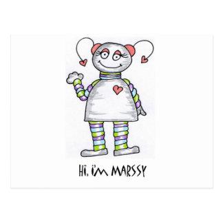 Hola Im Marssy Tarjetas Postales