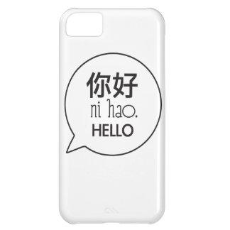 Hola impresión funda para iPhone 5C