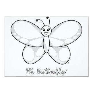 Hola invitación de Butterfly®