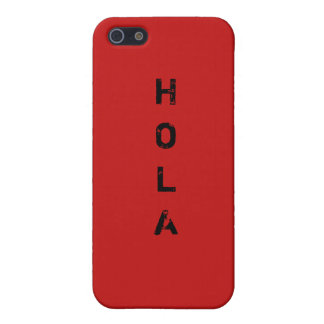 HOLA iPhone SE/5/5s COVER