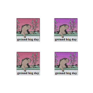 Hola, la sombra de Groundhog - Imán De Piedra