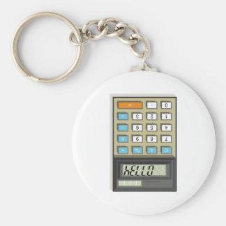 Hola llavero de la calculadora