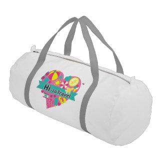 Hola-Lo bolso del gimnasio del viaje - blanco como Bolsa De Deporte