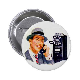 ¿Hola, Mabel? Es Tony. Pin Redondo De 2 Pulgadas