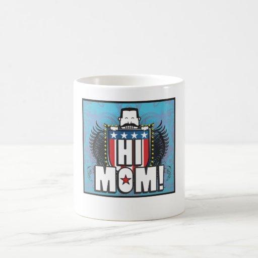 Hola mamá tazas de café