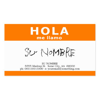 Hello My Name Is Business Cards & Templates