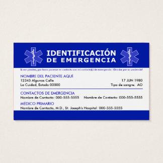 HOLA me llamo y tengo la demencia Business Card