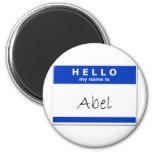 Hola mi nombre es Abel Imanes Para Frigoríficos