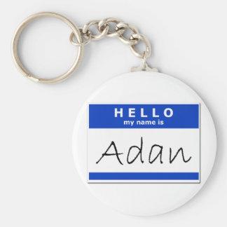 Hola mi nombre es Adan Llaveros