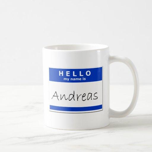 Hola mi nombre es Andreas Taza