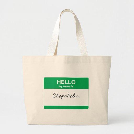 Hola, mi nombre es bolsa tela grande