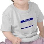 Hola, mi nombre es… camisetas