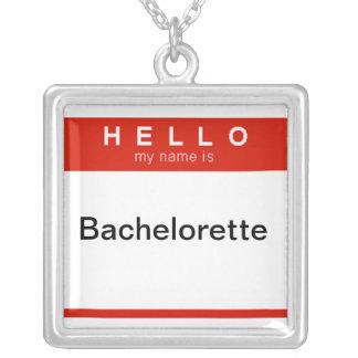 Hola mi nombre es collar de Bachelorette