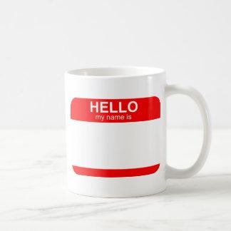 Hola mi nombre es flexible taza