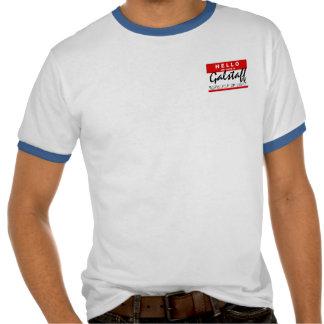 Hola mi nombre es; Hechicero de Galstaff de la luz Camisetas