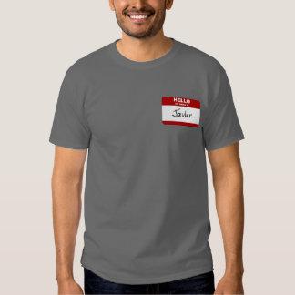 Hola mi nombre es Javier (rojo) Camisas