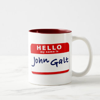 Hola mi nombre es Juan Galt Taza De Café
