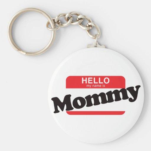 Hola mi nombre es mamá llavero