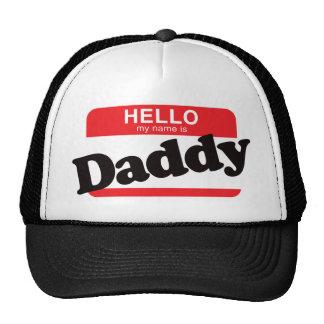 Hola mi nombre es papá gorros